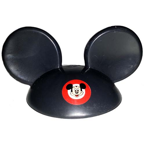 NEW Disney Mickey Mouse Ears Hat. Mickey Mouse with Walt Disney World patch in center of hat.