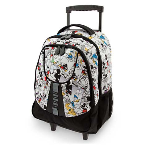 Your WDW Store - Disney Backpack Bag - Mickey Mouse Comic Strip ...