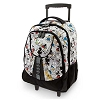 Disney Backpack Bag - Mickey Mouse Comic Strip Rolling Backpack