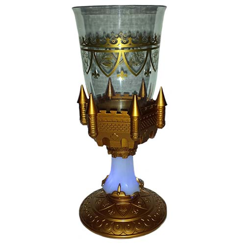 Your wdw store disney plastic goblet beauty and the beast light up - Plastic medieval goblets ...