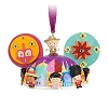 Disney Ear Hat Ornament - Attractions ''it's a small world''