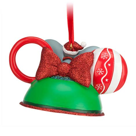 Your WDW Store - Disney Ear Hat Ornament - Holidays Baby's First ...