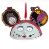 Disney Ear Hat Ornament - Nightmare Sally
