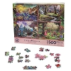 Disney Puzzle - Thomas Kinkade - Princesses - 4 Puzzle Set - Pink