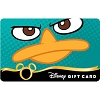 Disney Collectible Gift Card - Phineas & Ferb - Teal Takeover