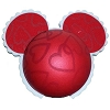 Disney Antenna Topper Ball - Valentine's Day Hearts