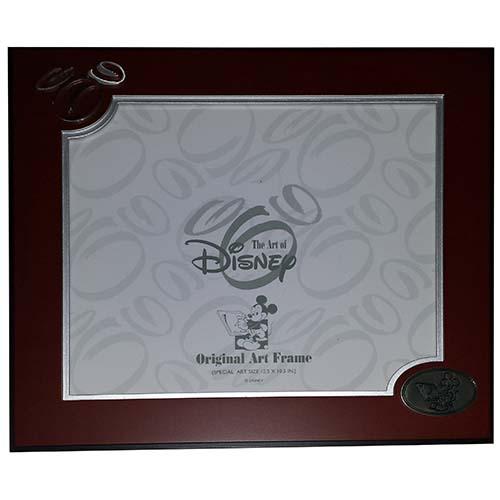 disney original artwork frame art of disney 12 12 x 10 12 brown - Disney Picture Frame