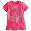 Disney Child Shirt - Jack Skellington Face Tee for Girls - Pink