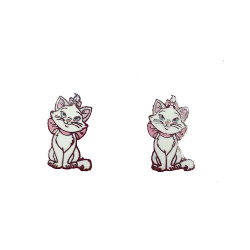 Disney Earrings Marie The Cat Post Earrings