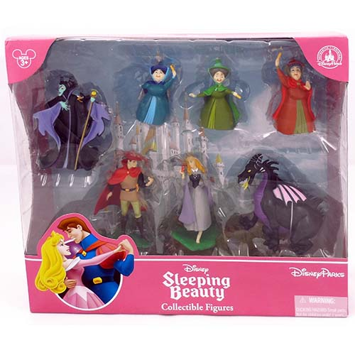 Disney Figurine Set Sleeping Beauty