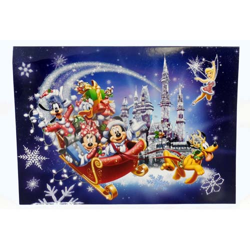 Your WDW Store - Disney Christmas Cards - Mickey And Friends - Sleigh