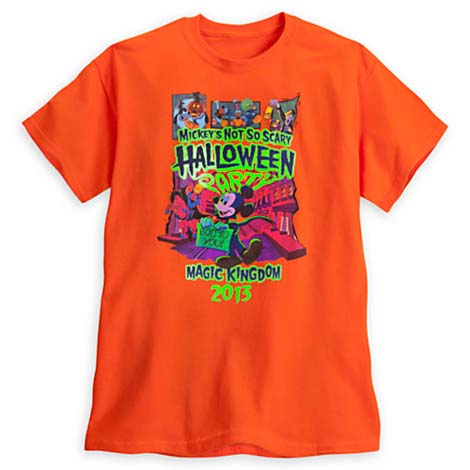 disney adult shirt 2013 mickeys not so scary halloween party - Scary Halloween Shirts