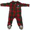 Disney Baby Christmas Sleeper - Red & Green - Santa Mickey