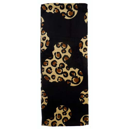 Disney Beach Towel Animal Kingdom Cheetah Print