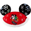 Disney Ears Hat - Mickey Mouse Santa - Snowflake Ears