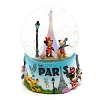 Disney Snow Globe - Mickey and Friends in Paris