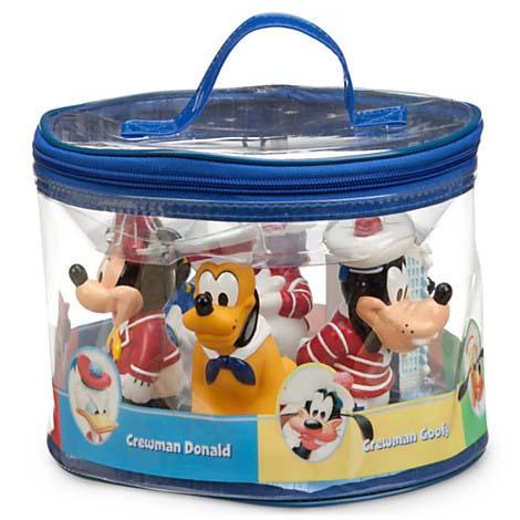 your wdw store - disney bath toy set - disney cruise line - mickey