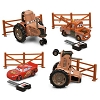 Disney Figurine Set - Cars Tractor Tipping Play Set