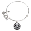 Disney Alex and Ani Charm Bracelet - Mickey Filigree Icon - Silver