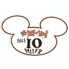 Disney Auto Magnet - RunDisney 2013 Tower of Terror 10 Miler