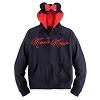 Disney ADULT Hoodie - Minnie SIGNATURE with Ears and Bow