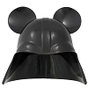 Disney Hat - Ears Hat - Darth Vader Mickey Mouse Helmet