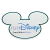Disney Auto Magnet - RunDisney Every Mile is Magic