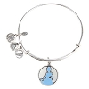 Disney Alex and Ani Charm Bracelet - Cinderella Silhouette - Silver RETIRED