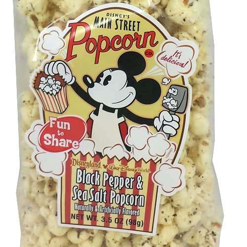 Disney Main Street Popcorn Black Pepper Amp Sea Salt