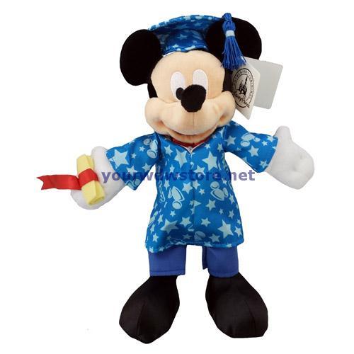 Your Wdw Store Disney Plush Mickey Mouse Graduation
