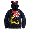 Disney LADIES Jacket - Minnie Mouse Ear Hoodie for Women