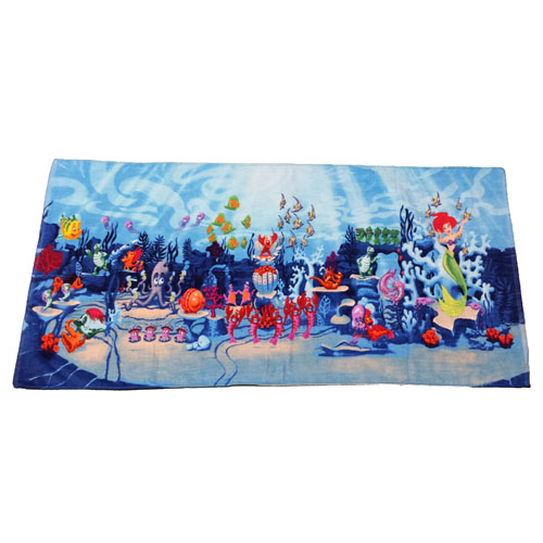 your wdw store - disney beach towel - ariel