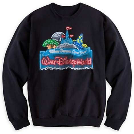 Your WDW Store - Disney Adult Sweatshirt - Glow with the Show ...