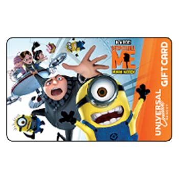 Your WDW Store - Universal Collectible Gift Card - Despicable Me ...