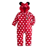 Disney Infants Bodysuit - Minnie Mouse Fleece Walt Disney World