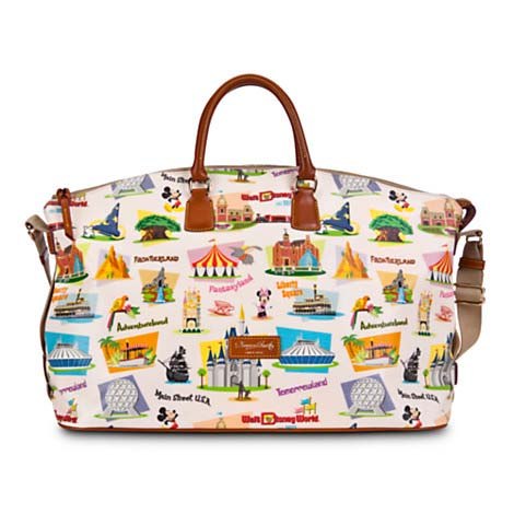 Get away for fun times with this strapping leather luggage by Dooney & Bourke. Mickey's fine fashion tote with colorful Magic Kingdom styling comes to you direct from the Disney /5(28).