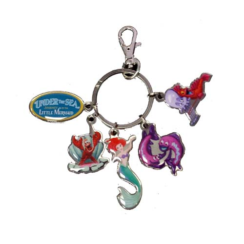 Your Wdw Store Disney Keychain Keyring Under The Sea