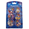 Disney Magnet - 6 pack - 2014 - Mickey And Friends
