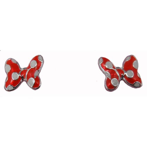 Disney Earrings Minnie Mouse Bows