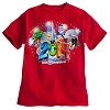 Disney Child Shirt - 2014 Mickey Mouse and Friends Red Tee