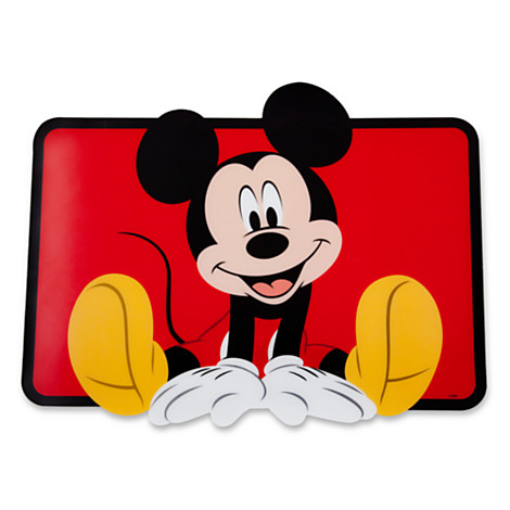 Your Wdw Store Disney Placemat Mickey Mouse Placemat