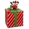 Disney Cookie Jar - Mickey and Minnie Mouse Holiday Gift