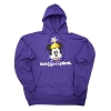 Disney LADIES Hoodie - Minnie Mouse Peek-A-Boo - Purple