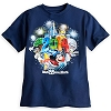 Disney Child Shirt - 2014 Mickey Mouse and Friends Navy Tee