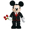 Disney Plush - Porch Greeter - Mickey - 26 inches - Valentine's