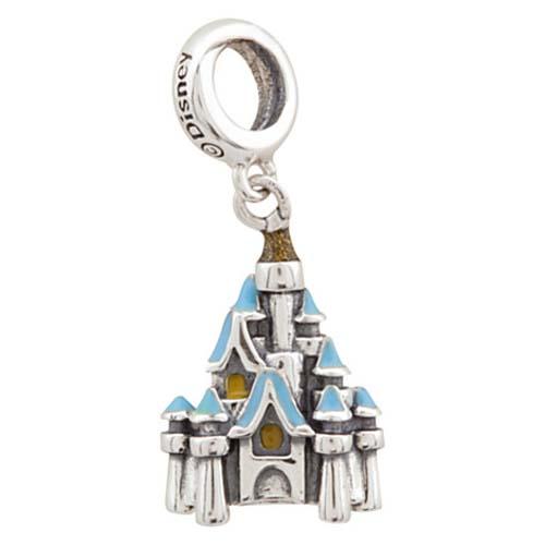 Disney Chamilia Charm Sterling Silver Cinderella