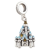 Disney Chamilia Charm - Sterling Silver - Cinderella Castle Dangle