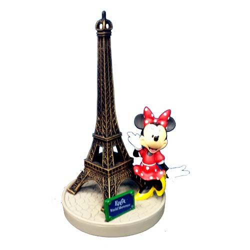 Disney Figurine Epcot World Showcase Minnie Eiffel Tower