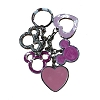 Disney Keychain Keyring - Mickey Icons and Hearts