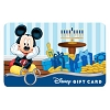 Disney Collectible Gift Card - Happy Hanukkah Mickey Mouse